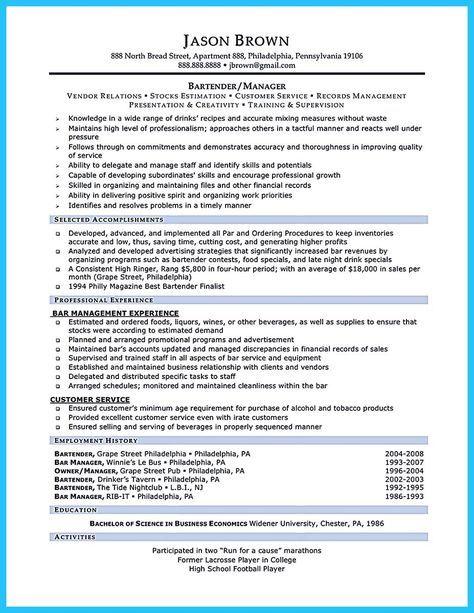 As 25 melhores ideias de Resume objective sample no Pinterest - resume experience examples