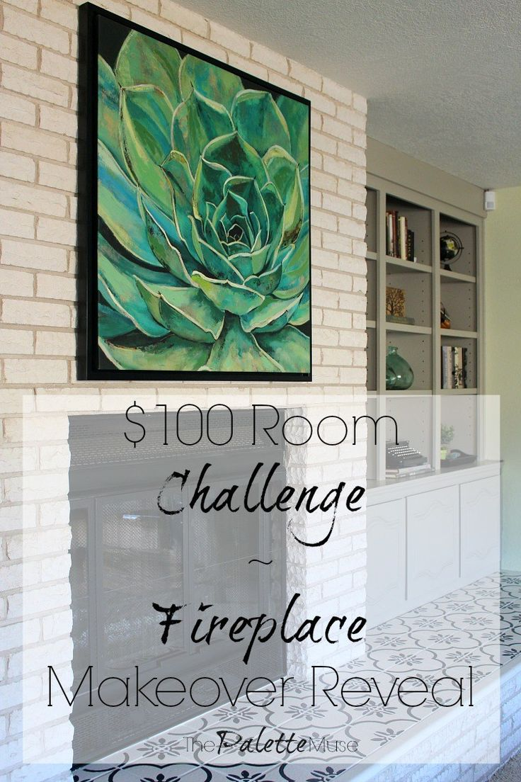 It's finally here – reveal week of the $100 Room Challenge! I have to admit, there were a few moments along the way that I questioned whether I would get this one done. You would think that a whole month would give you plenty of time to finish a project that only includes painting closet doors, painting bookshelves, and a little stenciling. But like me, you would be wrong. The optimist in me always thinks projects are small when I get started. Then the procrastinator takes over...