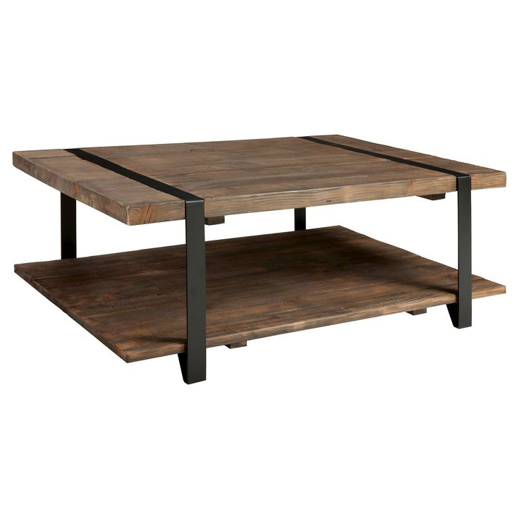 8 Coffee Table Brown   Alaterre Furniture