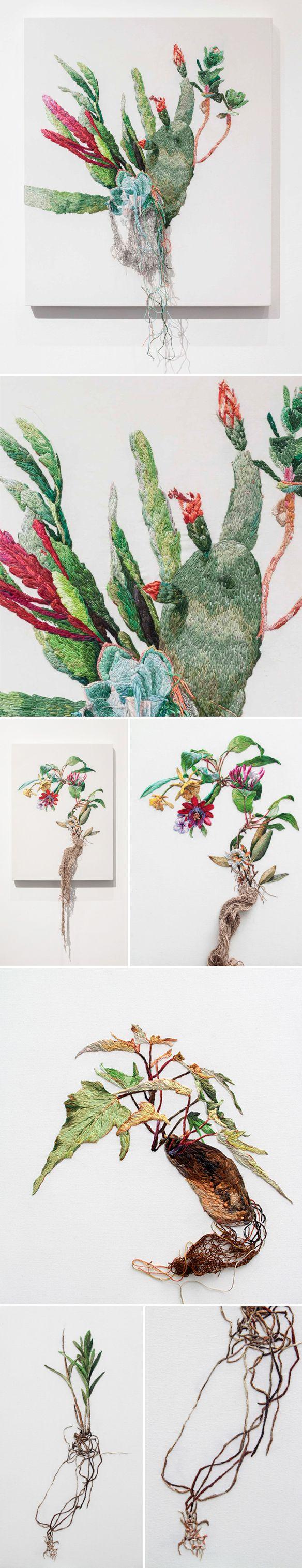 embroidery by ana teresa barboza <3