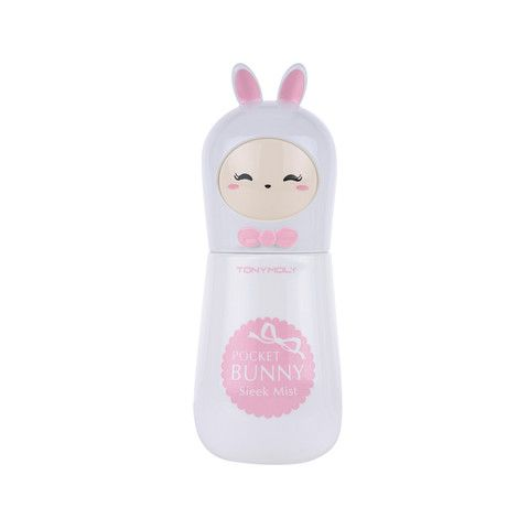 Refreshing and cute pick-me-up. TONYMOLY Pocket Bunny Sleek Mist