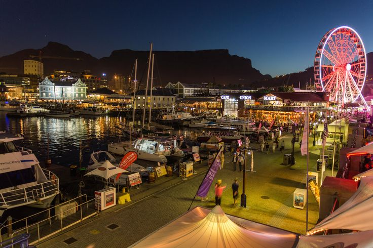 Cape Town's most popular entertainment & shopping destination, the V&A Waterfront is jam-packed with things to see & do - why not stay there as well? #Africa #SouthAfrica #CapeTown #travel #summer