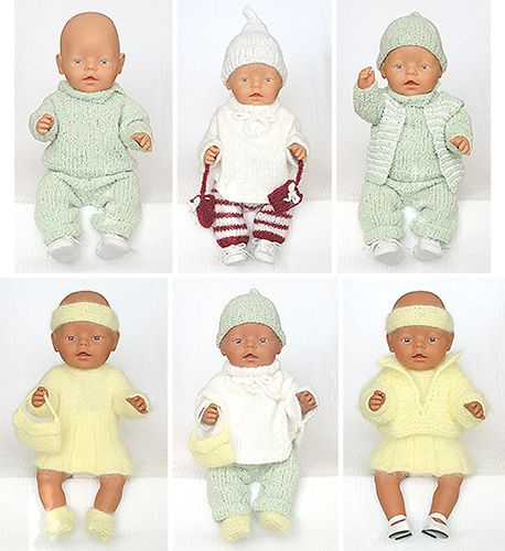 babybornkleedjes om te breien