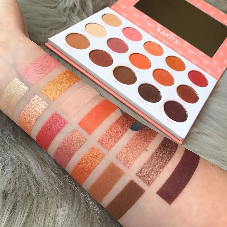 #makeup #swatches #colourpop
