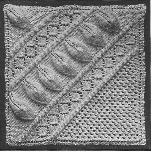 17 Best images about Leaf/Ivy/Vine Knit Stitch Patterns on ...