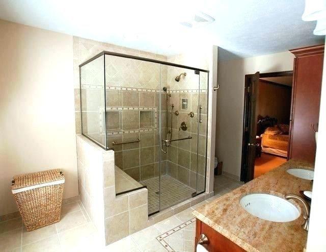 Bench In Shower Shower Bench Dimension Shower Built In Shower