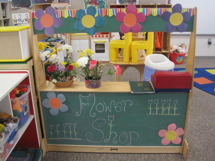 Flower shops preschool and gardening on pinterest for Indoor gardening lesson
