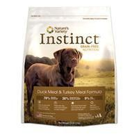Nature's Variety Instinct Canine Duck And Turkey Formula Canine 25.3 Lb