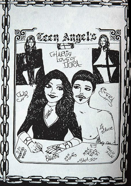 Apologise, but, angel magazine teen chicano prison art that