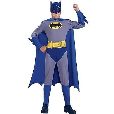 Boys Batman Costume Small 4 6 Halloween Kids Child Superhero Muscle Chest | eBay