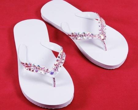 idea for flip flops decoration