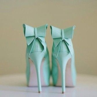 turquoise shoes bow bows turquoise, prom, homecoming, long dress, sequins , one shoulder dress, aqua, baby blue blue high heels light blue t...