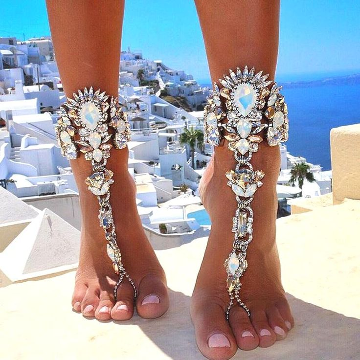 One Pcs Long Beach Summer Vacation Ankle Bracelet Sandal Sexy Leg Chain Female Boho Crystal Anklet Statement Jewelry 3226 What a beautiful imageGet it here --->  http://www.jewelrydue.com/product/2016-one-pcs-long-beach-summer-vacation-ankle-bracelet-sandal-sexy-leg-chain-female-boho-crystal-anklet-statement-jewelry-3226/ #shop #beauty #Woman's fashion #Products #homemade