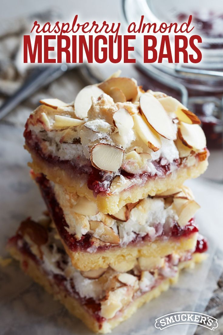 Raspberry Meringue Bars are a sweet and tasty addition to your holiday baking list!