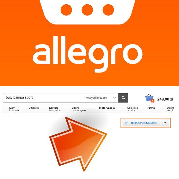 """Zmian na Allegro ciąg dalszy. Od 30 marca wygaszone zostaną dotychczasowe powiadomienia o Nowych Ofertach oraz usunięta zakładka Ulubione. Zastąpić ją mają ,,Obserwowane wyszukiwania"""".  Aby jednak nadal otrzymywać informacje o nowych ofertach należy skorzystać z wyszukiwarki Allegro, zawęzić wynik do ulubionych parametrów, a następnie kliknąć przycisk ,,Obserwuj wyszukiwanie""""  792 817 241 biuro@e-prom.com.pl http://e-prom.com.pl  #obsługaallegro #sprzedażnaallegro #zmianynaallegro #allegro"""