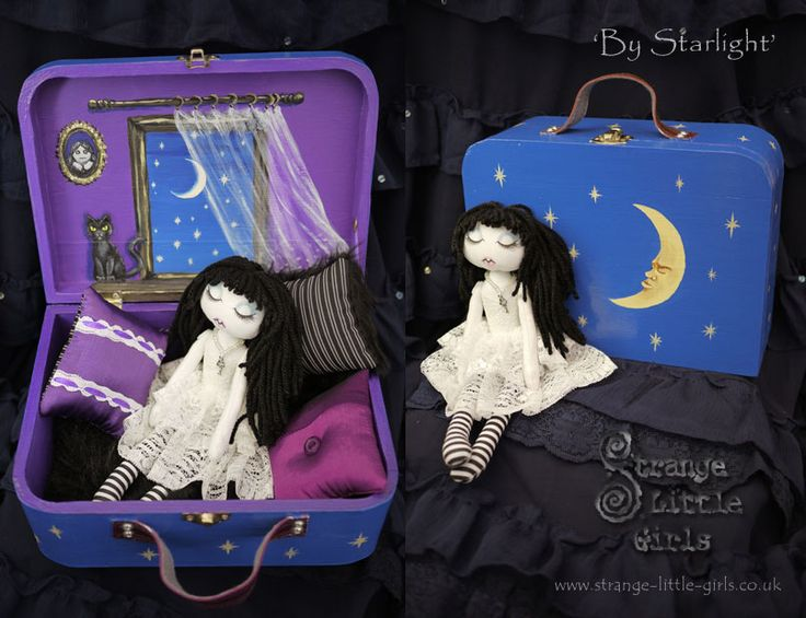 strange little girls dolls | Strange Little Girls – Blog – by Gothic fantasy & doll artist Jo ...
