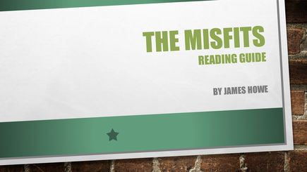 the misfits james howe pdf