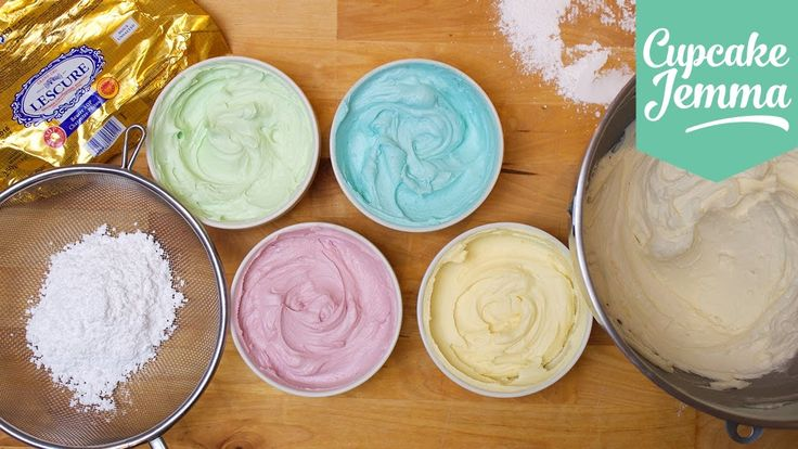 Buttercream Masterclass: How to make Perfect Buttercream Icing | Cupcake...