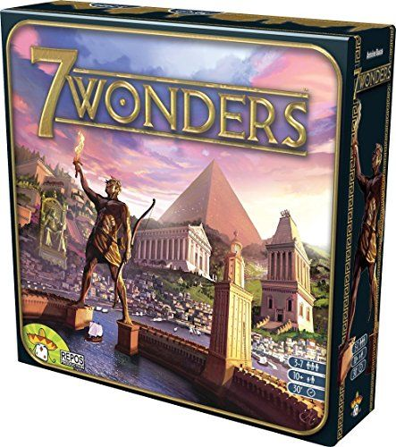 7 Wonders - You are the leader of one of the 7 great cities of the Ancient World. Gather resources, develop commercial routes and affirm your military supremacy. Build your city and erect an architectural wonder which will transcend future times.