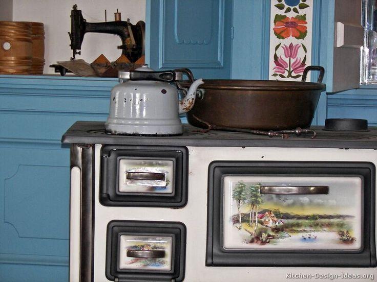 Kitchen Design Vintage 145 best retro & vintage kitchens images on pinterest | kitchen