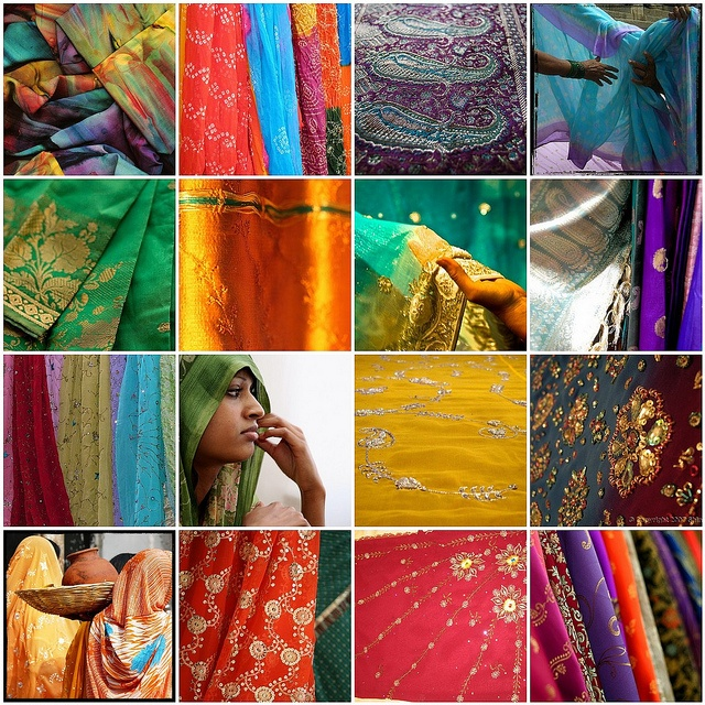 Someday I need to go to India and buy all the fabric I can get my hands on