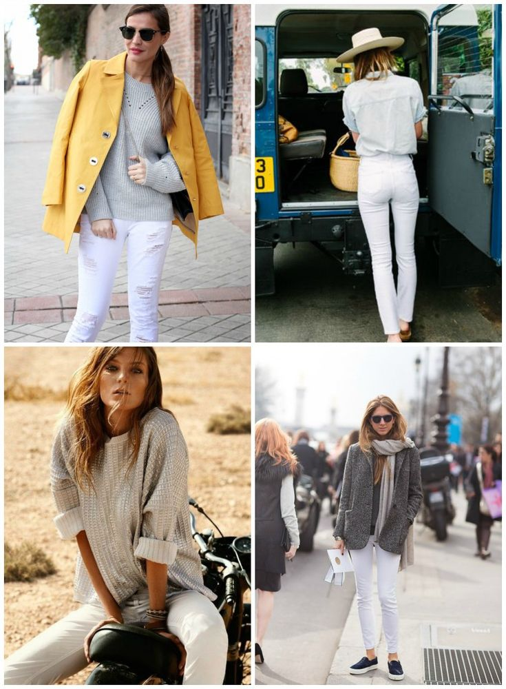 Inspiration: White jeans