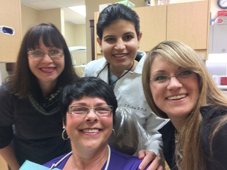 Our patient Marlene with Dr. Bajwa, Maureen and Robyn.