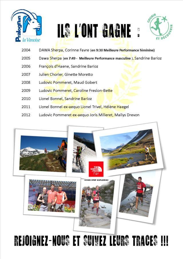 Ils ont gagnés le Tour des Glaciers de la Vanoise