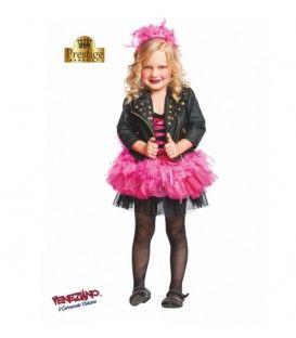 lady punk costume neonata 1a-3a