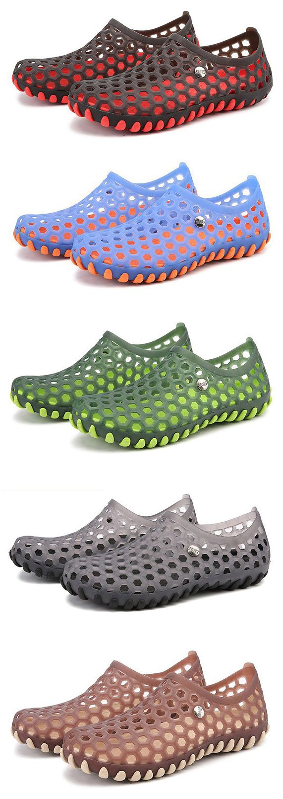Men Soft Massage Removable Insole Beach Sandals Casual Water Shoes