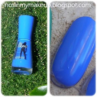 Bourjois NailPolish Summer 2012 - Blue Fabuleux