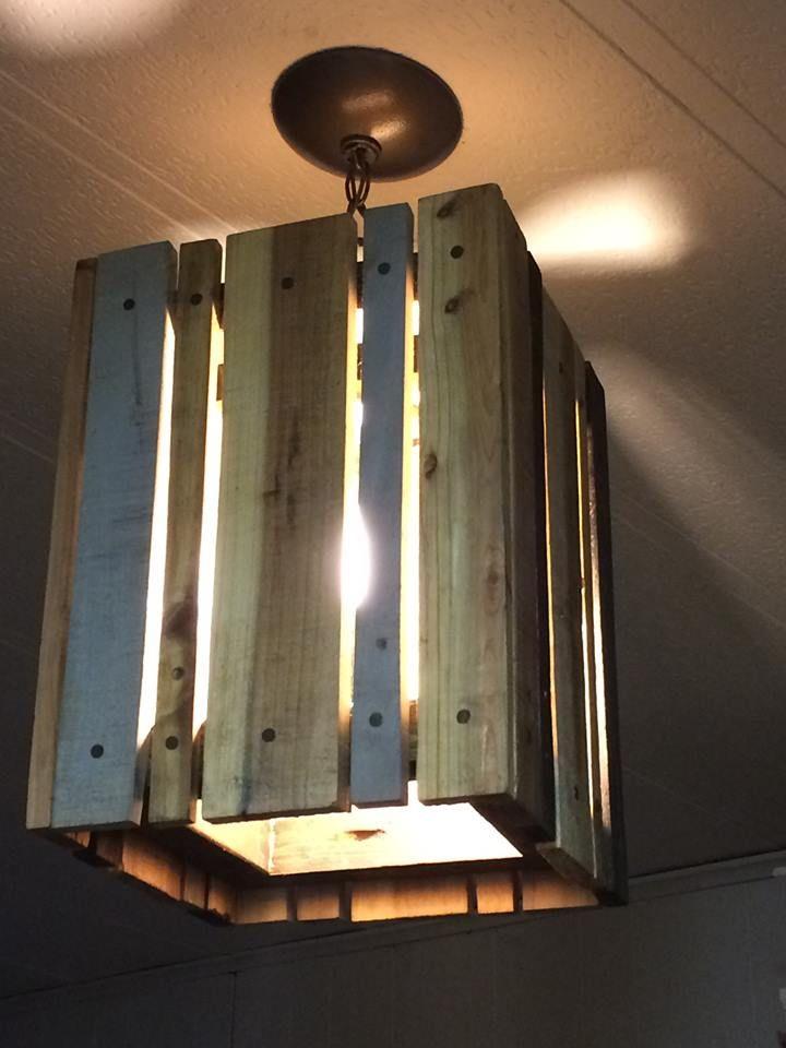 Pallet Pendant Light | 99 Pallets