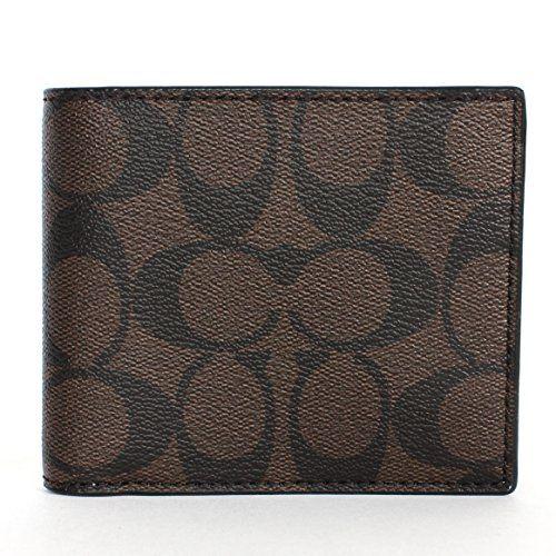 COACH Coach Men'S Pvc Short Wallet. #coach #bags #wallet #pvc #accessories #