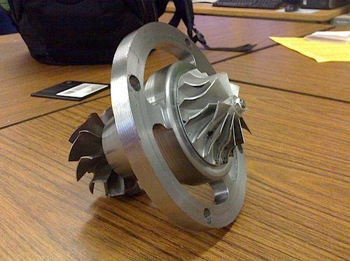 Homemade Turbine Jet Engine