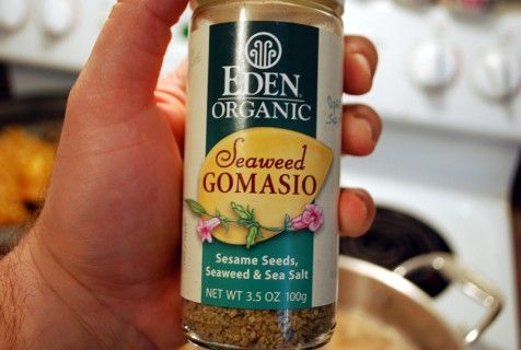 Gomasio....the secret ingredient in hibachi fried rice (which I WILL be perfecting in the near future)