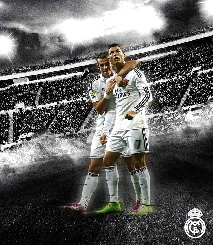 Sports 227 pinterest gareth bale with cr7 poster free download voltagebd Gallery