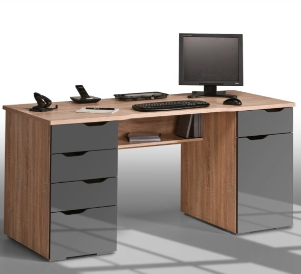 Feel Relaxed And Comfortable At Your Workstation With Mason  #computerworkstation. You Can Place Your