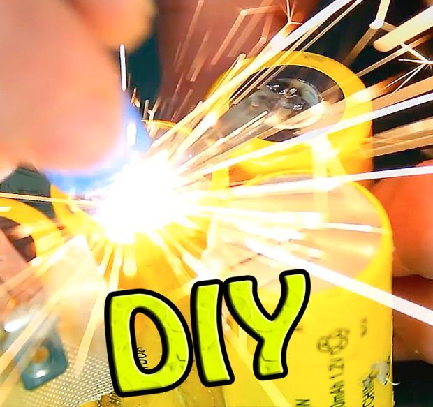 How to Make a MINI Spot Welder for Cheap / 12 V