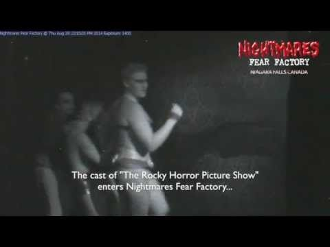 Watch as the cast of The Rocky Horror Show in Niagara-on-the-Lake visits the world famous Nightmares Fear Factory!