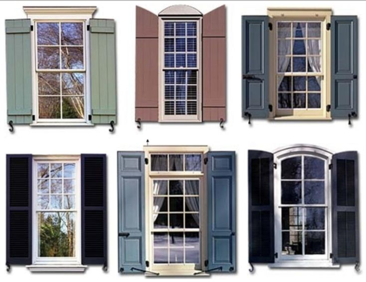 Home Exterior Shutters How To Measure For Exterior Window Shutters Exterior Windows Designs