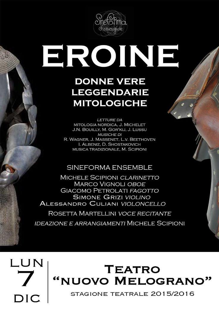 """EROINE - donne vere, leggendarie, mitologiche"" di Sineforma Associazione"