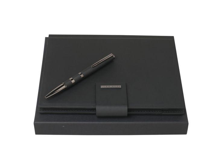 Подарочный набор: папка А5 с пауэрбэнком, ручка шариковая