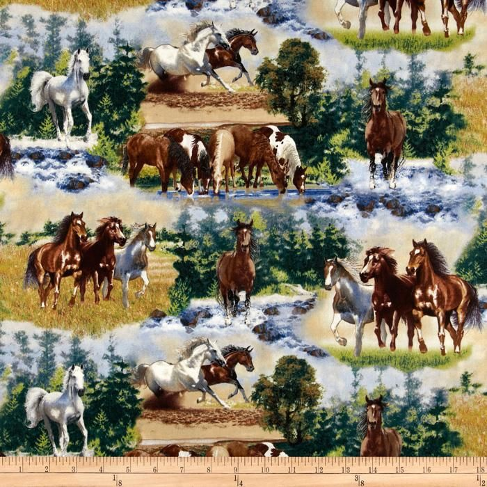 17 best images about wiby 39 s board on pinterest mermaid for Kids horse fabric