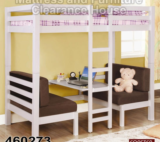 could convert old bunk to an outdoor picnic area for the kids.