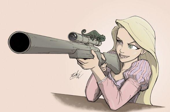 Las Princesas Disney se vuelven asesinas