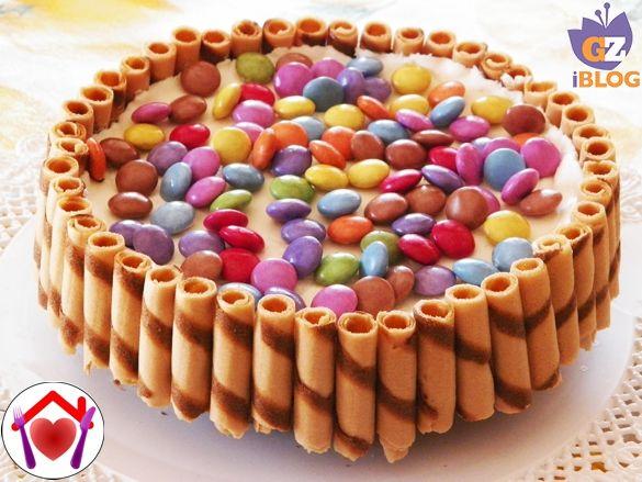 Per il compleanno di mio figlio Nicolò ho preparato questa cheesecake al cioccolato bianco...