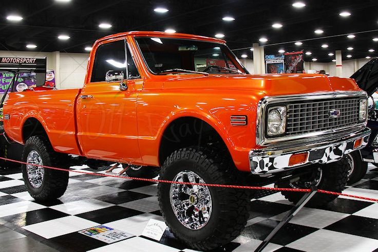 1972 Chevy - Would so put a SF Giants sticker in the corner of the back window :-) GO GIANTS!