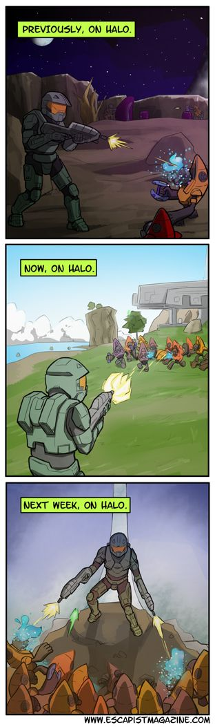 Halo... yeah pretty much! ;)