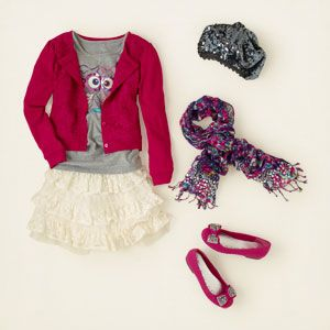 girl - outfits - cardi party | Children's Clothing | Kids Clothes | The Children's Place