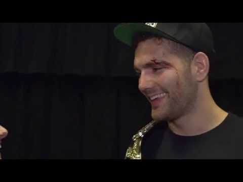 UFC (Ultimate Fighting Championship): UFC 187: Chris Weidman Backstage Interview
